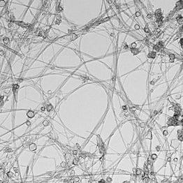 Nanotubes de nitrure de bore-Image TEM