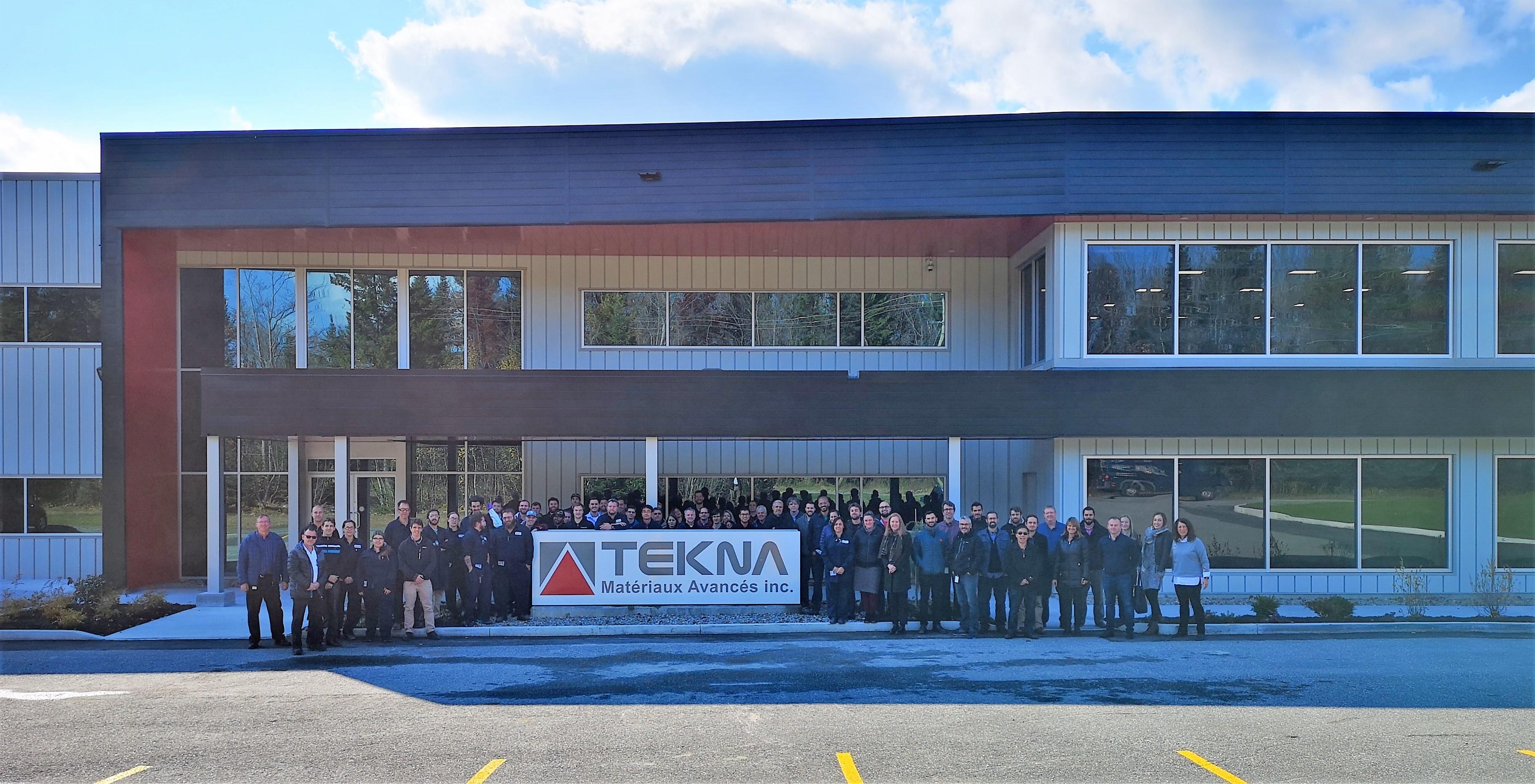 Tekna inaugure l'expansion de son usine de production de poudres métalliques.